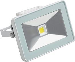 Meister LED-buitenspot, 10 watt, voor vaste installatie, straalwaterbescherming, 900 lumen, buitenlamp, wandschijnwerper, ...