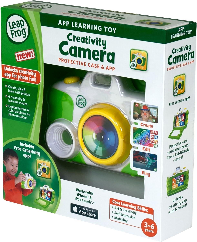 LeapFrog Creativity Camera App with Predective Case (Green)