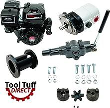 Tool Tuff Log Splitter Build Kit - 15 hp Electric-Start Engine, 28 GPM Pump, Auto-Return Valve, Coupler Mount & Hardware