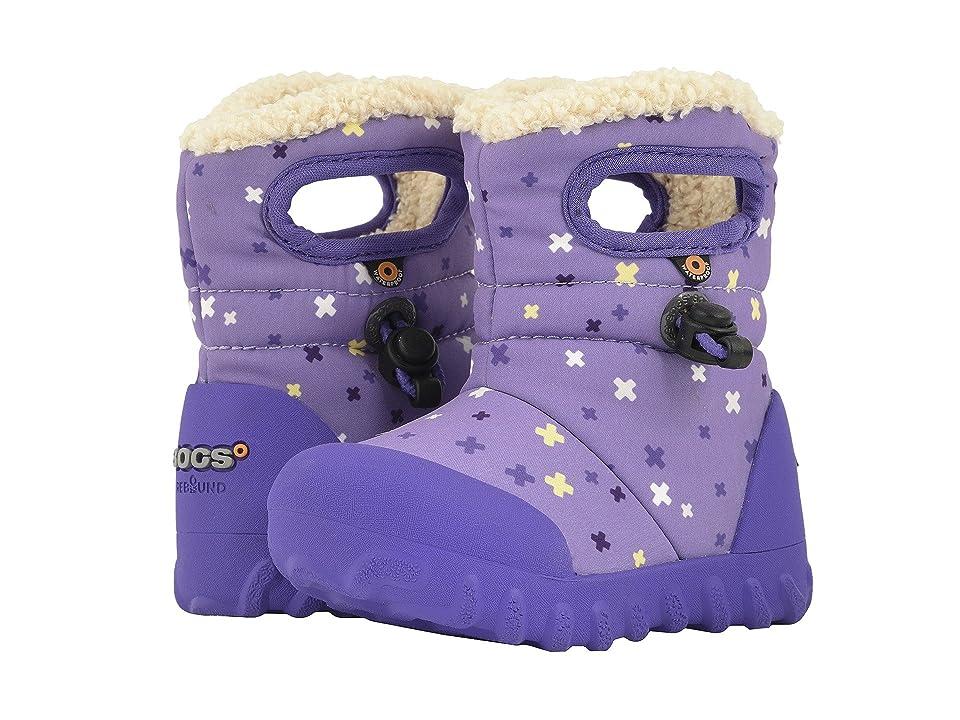 Bogs Kids B-Moc Plus (Toddler/Little Kid) (Lavender Multi) Girl