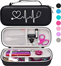 Bovke Stethoscope Hard Case for 3M Classic III, Lightweight II S.E, Cardiology IV, MDF Acoustica Deluxe Stethoscopes - Ext...