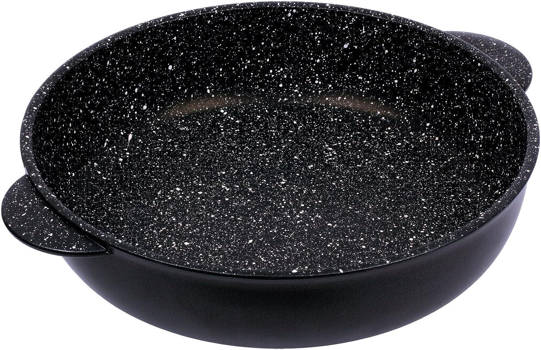 primera vez respuesta Pentolpress Granit Granit Granit - Sartén (24 x 7,5 cm), Color negro, aluminio, negro, 32 x 7.5 cm  punto de venta