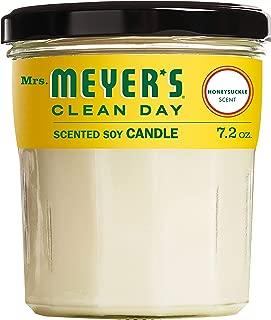 Mrs. Meyer's Soy Candle, Honeysuckle, 7.2 OZ (Pack - 1)