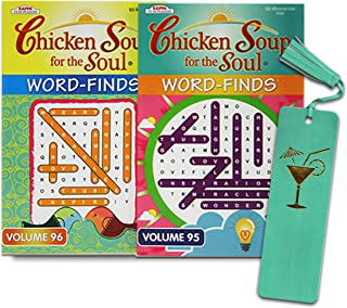 Chicken Soup Word Find Puzzle Book 2 Pack ~ Puzzle Books for Adults, Teens, Seniors | Word Find Puzzles for Adults (Chicke...