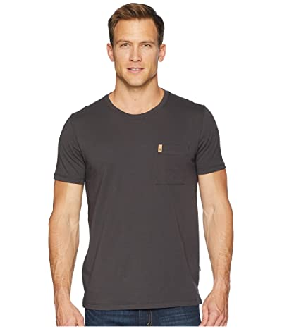 Fjallraven Ovik Pocket T-Shirt (Dark Grey) Men