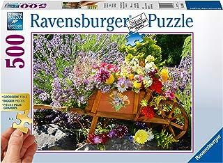 Ravensburger Summer Bouquet Puzzle 500pc,Adult Puzzles