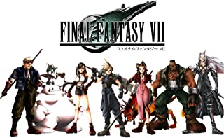 Final Fantasy CGC Huge Poster VII Characters HD Remake PS1 PS3 PS4 PSP Vita - FVII056 (24