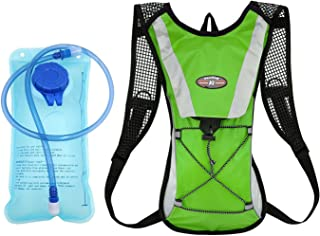 Hydration Pack + 2L Water Bladder Bag Backpack Cycling Bicycle Hiking Camping