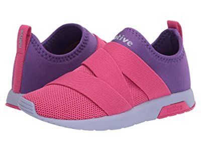 Native Kids Shoes Phoenix (Little Kid) (Hollywood Pink/Starfish Purple/Powder Purple) Girls Shoes