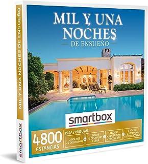 Smartbox - Caja Regalo Amor para Parejas - Mil y una Noches de ensueño - Ideas Regalos Originales - 2 Noches con Desayuno ...