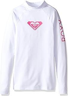 8eb4ba9b9bf5 Roxy Women's Big Girls' Whole Hearted Long Sleeve Rashguard