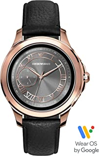 Emporio Armani Men's Dress Smartwatch Powered with Wear OS by Google with Heart Rate, GPS, NFC, and Smartphone Notifications