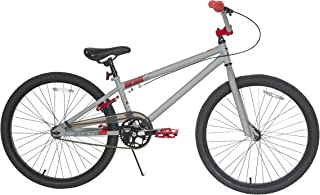 TONY HAWK Men's Dynacraft Aftermath Bike, Grey/Black/Red, 24
