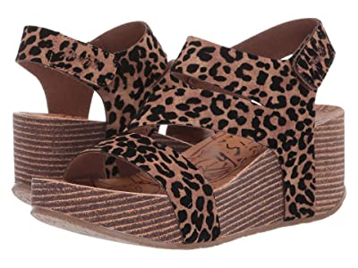 Blowfish Leelee (Caramel Leopard Ojai PU) High Heels