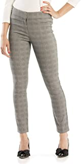 Review Women's Sia Check Pants Black/Cream