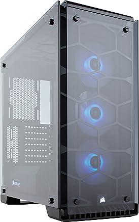 Corsair Crystal 570X Case da Gaming, Mid-Tower ATX, Finestra Laterale Vetro Temperato e Ventole, RGB LED, Nero - Trova i prezzi più bassi