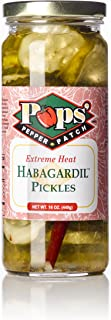 Pops Pepper Patch Spicy Sweet Dill Pickle Chip Habanero Habagardil (Extreme)