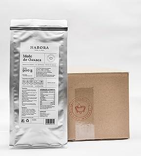 Nabora Mole de Oaxaca, Con Tableta de Cacao 100% Orgánico, Sin Azúcar, Sin Gluten, Sin Conservadores, 900 g (Pack de 5)
