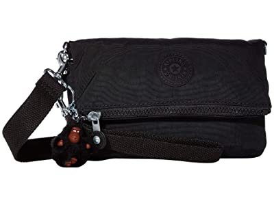 Kipling Lynne Convertible Crossbody Bag (True Black) Handbags
