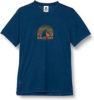 [サロモン] Tシャツ EXPLORE GRAPHIC SHORT SLEEVE TEE MEN (エクスプロアー グラフィック ショートスリーブ ティー) メンズ S~L (日本サイズM~XL相当)
