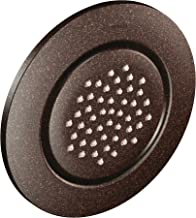 Moen TS1322ORB Mosaic Round Single-Function Body Spray, Valve Required, Oil Rubbed Bronze