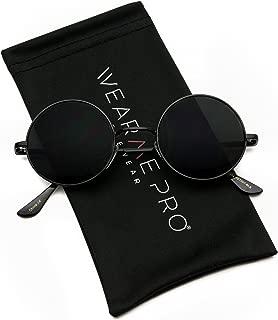 New Retro Vintage Lennon Inspired Round Metal Small Circle Sunglasses