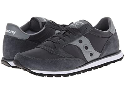 Saucony Originals Jazz Low Pro (Charcoal/Grey) Men