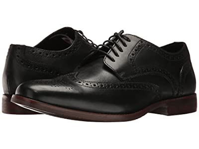 Rockport Style Purpose Wingtip (Black Leather) Men