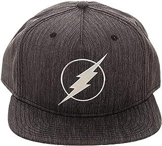 DC Comics The Flash Iridescent Weld Woven Fabric Snapback Cap Hat