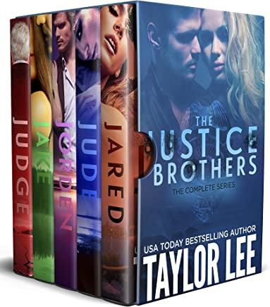 The Justice Brothers Complete Series: Sizzling HOT Romantic Suspense (The Justice Brothers Series Book 6) (English Edition)