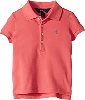 6ec0504766ba39 Polo Ralph Lauren Kids Short Sleeve Mesh Polo Shirt (Little Kids Big ...