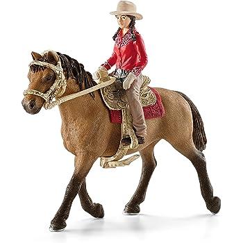 SCHLEICH 72105 Horse Club MONTALA torneo con pick up e rimorchio NUOVO