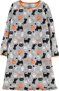 Girls Halloween Sleep Gown Nightgown