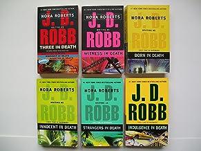 J. D. Robb (6 Set) Three in Death; Witness; Born; Innocent; Strangers; Indulgence