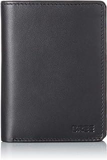BREE Herren Pocket New 108 Geldbörse, Schwarz Black, 2x13x10 cm B x H x T