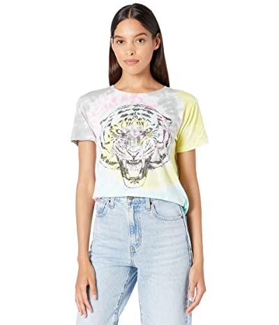 Chaser Tie-Dye Tiger Recycled Vintage Jersey Everybody Tee