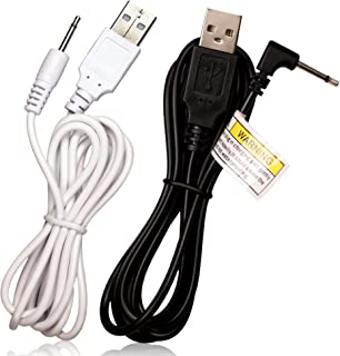 USB Adapter Cable Set | Charging Cord for Mini Halo - Rechargeable Personal Device - 2.5