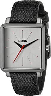 Nixon Women's A472131 K Squared Analog Display Japanese Quartz Black Watch