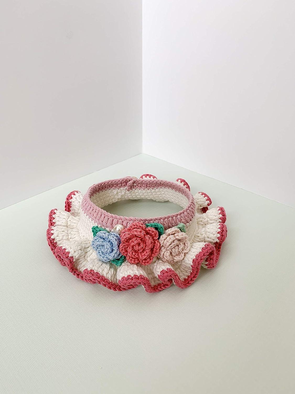 Rose Garden II Crochet Ranking TOP8 Ruffle Pet 40% OFF Cheap Sale Collar
