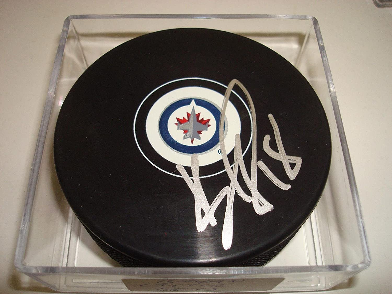 Bryan Little Signed Winnipeg Mail order Jets Go Puck Auto Hockey Max 75% OFF