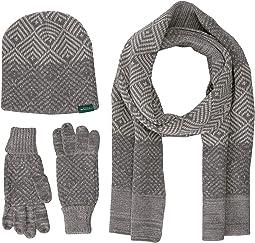 Beanie Scarf Gloves Set