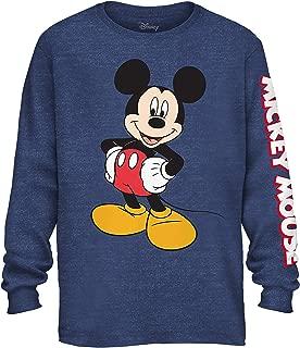 Mickey Mouse Wash Disneyland World Funny Humor Men's Graphic Long Sleeve Shirt