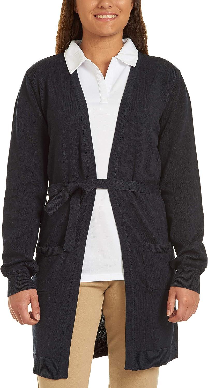 Chaps Junior's Uniform Belted Cardigan Sweater