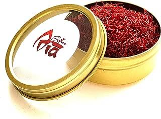 Aria Saffron, Finest Premium All Red Saffron Threads, Grade A+, Highest Grade, 2.5 Grams 0.09 Oz