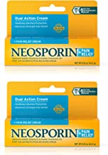 Neosporin + Maximum-Strength Pain Relief Dual Action Antibiotic Ointment with Bacitracin Zinc, 0.5 Ounce, Pack of 2