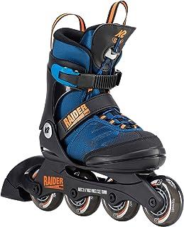 [ケーツー] ジュニア インラインスケート レイダー プロ RAIDER PRO ブルー/オレンジ I190200301