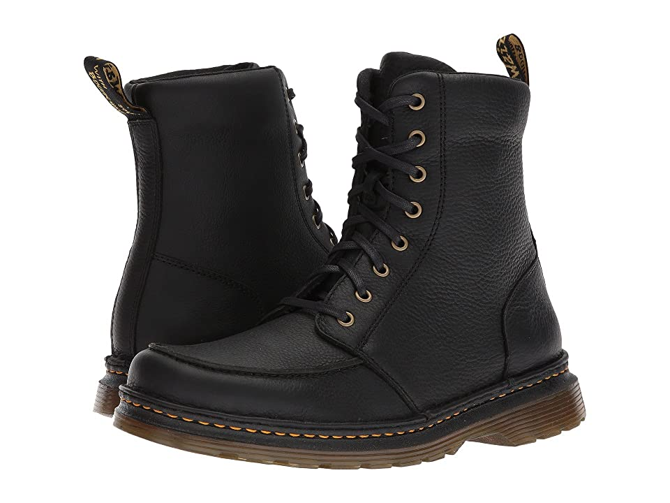 Dr. Martens Lombardo 8-Eye Boot (Black Grizzly) Men
