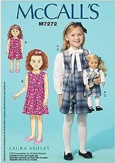 McCall's Patterns M7272 Children's/Girls'/18