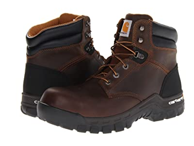 Carhartt 6-Inch Work-Flextm Comp Toe Work Boot (Brown) Men