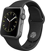 Apple Watch Series 1 Smartwatch 42mm, Space Gray Aluminum...